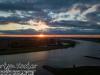 Zon opkomst Lekbandijk Zoelmond