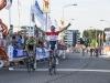 johnny hoogerland wint bij de Profronde in Tiel