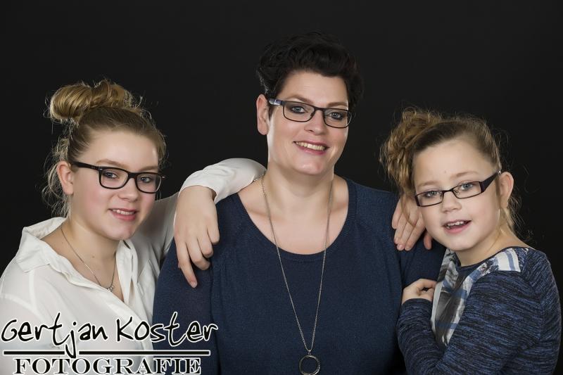 Jorieke en haar dochters